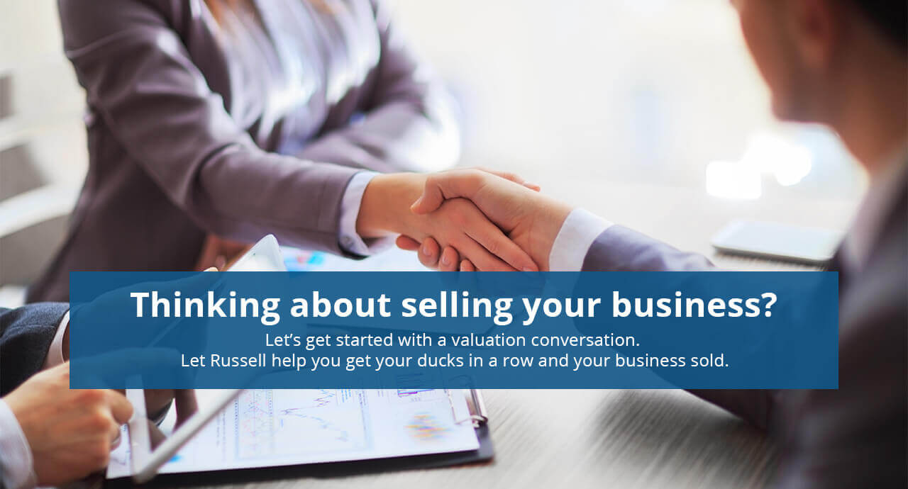 Thinking about selling your business ?
